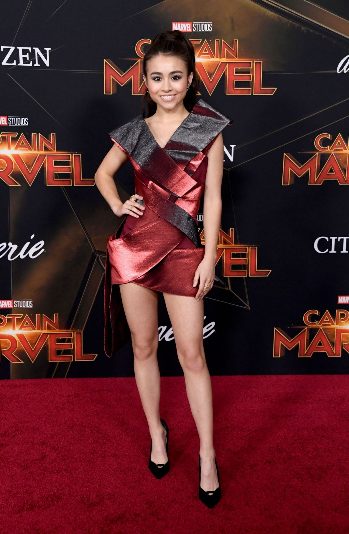 Ciara In Instyle Magazine April 2019 Issue: Ciara Riley Wilson At 'Captain Marvel' Premiere In