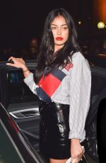 Cindy Kimberly At the Tommy Hilfiger show in Paris