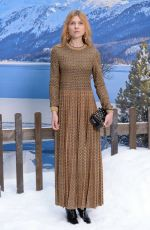 Clemence Poesy At Chanel Show Womenswears F/W 2019/2020 in Paris
