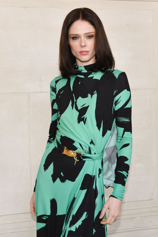 Coco Rocha At Elie Saab show during Paris Fashion Week Womenswear Fall/Winter 2019/2020