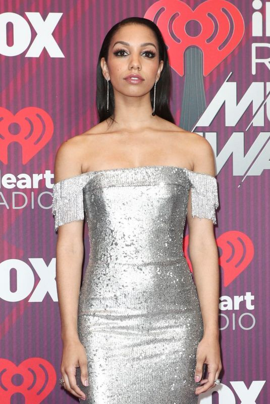 Corinne Foxx At 2019 iHeartRadio Music Awards in Los Angeles