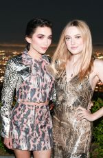Dakota Fanning At H&M Conscious Exclusive Collection Launch Party in Laurel Canyon