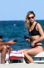 Danielle Knudson On a relaxing Sunday afternoon on Miami Beach