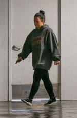 Demi Lovato Leaves a gym before a trip to a laser center in Los Angeles