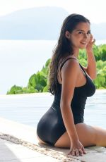 Demi Rose Enjoys a chilled day by the pool in Thailand