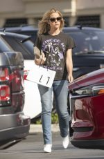 Denise Richards Out in Calabasas
