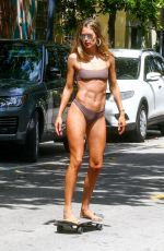 Doutzen Kroes In Bikini at a photoshoot on the streets of Miami