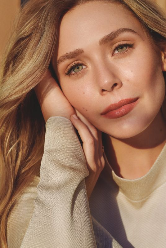 Elizabeth Olsen - Bobbi Brown Cosmetics Campaign - March 2019