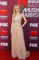 Elle Fanning At 2019 iHeartRadio Music Awards in LA