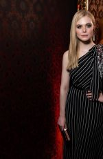 Elle Fanning At Miu Miu dinner and aftershow party in Paris