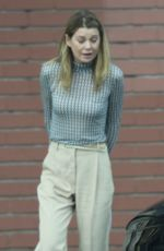 Ellen Pompeo Out for lunch in Los Angeles