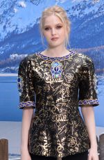 Ellie Bamber At Chanel show Womenswear F/W 2019-2020 in Paris