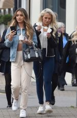 Ellie Brown, Stephanie Lam pictured eating ice cream in Hale Cheshire