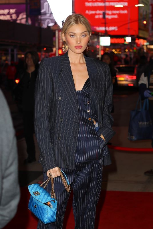 Elsa Hosk At The Times Square EDITION Hotel Opening Party in New York