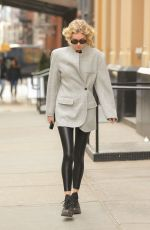 Elsa Hosk Out and about in NY