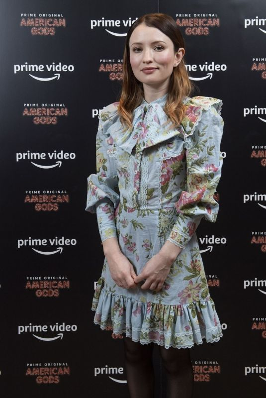 Emily Browning At Amazon Prime