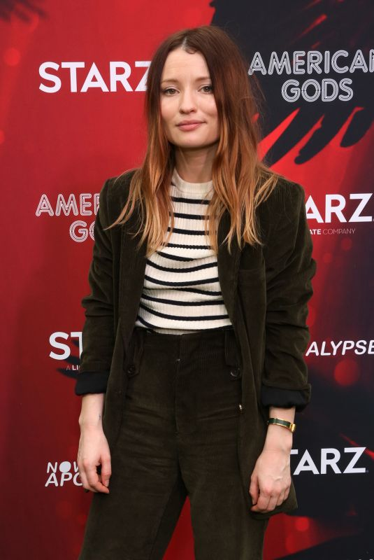 Emily Browning Attends American Gods & Now Apocalypse Live Viewing Party at #TwitterHouse in Austin