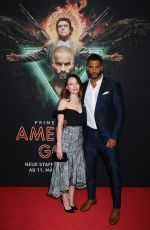 Emily Browning & Ricky Whittle At