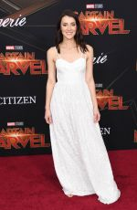"Emma Lahana At Marvel Studios ""Captain Marvel"" Premiere in Hollywood"