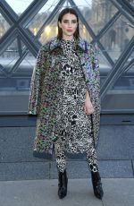 Emma Roberts At Louis Vuitton show PFW Womenswear F/W 2019/2020 in Paris