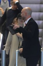 Emma Stone Arriving at the CDG Airport in Paris