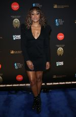 Eve At 2019 One Night for One Drop blue carpet arrivals at Bellagio Las Vegas