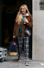 Fearne Cotton At BBC Radio 2 in London