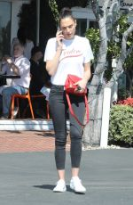 Gal Gadot Leaving Fred Segal in West Hollywood