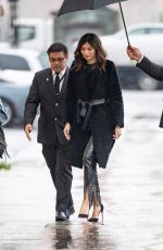 Gemma Chan At Jimmy Kimmel Live in LA