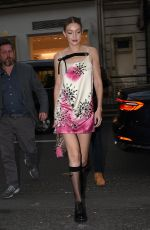Gigi Hadid Arrives at the Vogue Party in Paris