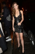 Grace Elizabeth At the Prada party during the Paris Fashion Week