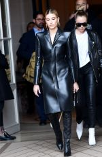 Hailey Baldwin Bieber Leaving her hotel in Paris