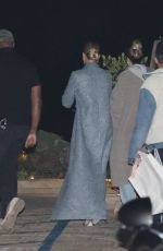 Hailey Baldwin Heads to Nobu for a night out with friends in Malibu