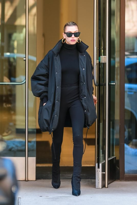 Hailey Baldwin Out in New York City