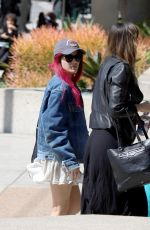 Halsey Out and about with a friend in LA