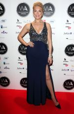Hannah Waddingham At 19th WhatsOnStage Awards in London