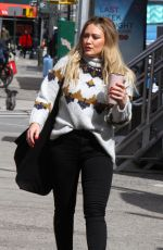 Hilary Duff Again On the set of Younger in NYC