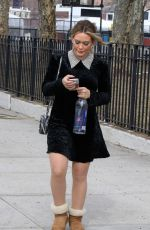 Hilary Duff Filming Younger in NYC