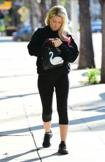 Holly Madison At the gym in Studio City