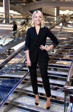 Holly Willoughby At Launch of MSC Belissima Cruise Ship in Southampton