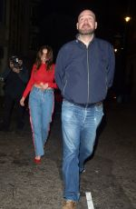 Imogen Thomas Out in London