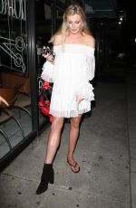 Ireland Baldwin Displays new shoe trend while out and about in West Hollywood