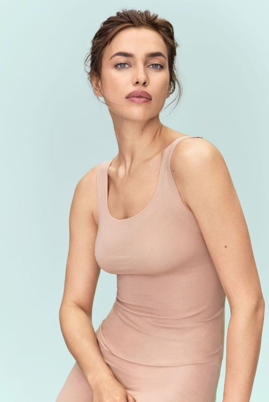 Irina Shayk for Intimissimi new silk collection - March 2019