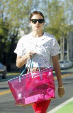 Irina Shayk Out in Brentwood
