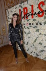 Iris Mittenaere for Morgan collection at La Maison des Centraliens in Paris