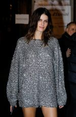 Isabeli Fontana At Isabel Marant show, Front Row, Fall Winter 2019, Paris Fashion Week, France