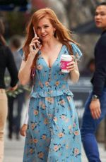 Isla Fisher Out in Los Angeles