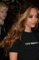 Jade Thirlwall Arriving at Bunga Bunga Covent Garden in London