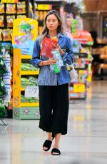 Jamie Chung Grocery shopping in LA