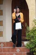 Jenna Dewan Leaving a friends house in LA